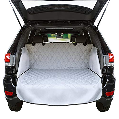 Wagon Fit Honda (Cargo Liner For SUV's and Cars, Waterproof Material, non Slip Backing, With Side Walls Protectors, Extra Bumper Flap Protector, Large Size - Universal Fit (Certified Refurbished))