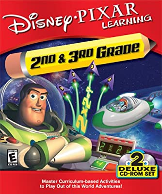 Disney Pixar Learning 2nd and 3rd Grade Buzz Lightyear