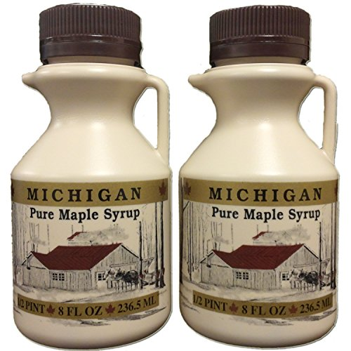 Traverse Bay Farms 100% Pure Michigan Maple Syrup - 2-8 oz. bottles