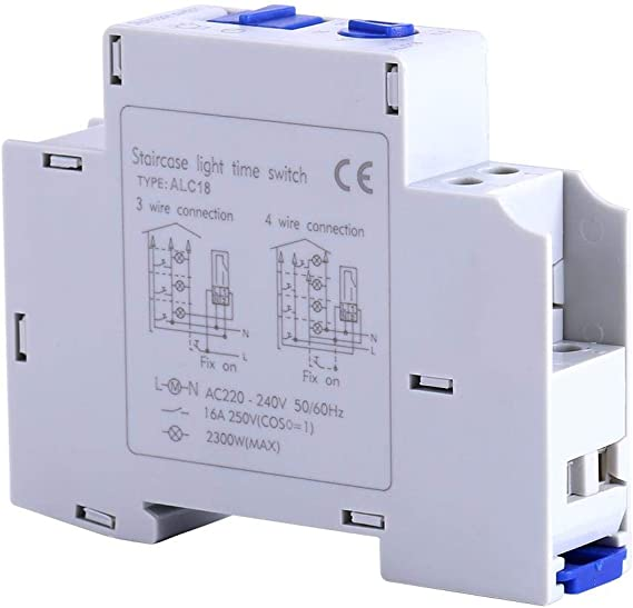 Broco AC 220-240V Temporizador de seguridad Enchufe Interruptor de ...