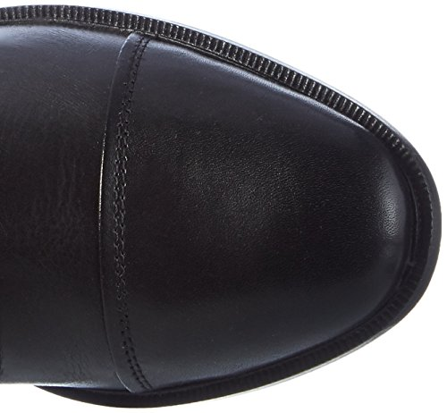 HKM–Botas de equitación Spain Soft Piel Normal/amplio Negro - negro