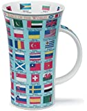 Dunoon Glencoe Flags Of The World Mug (16.9 Oz) by Dunoon