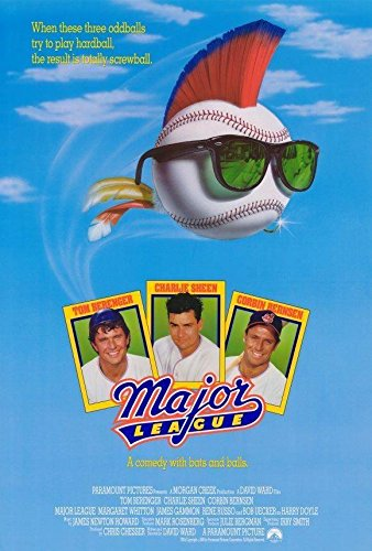 Image result for Major League movie poster