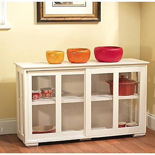 Stackable Buffet Storage Cabinet - Dining Room Painted Cabinet