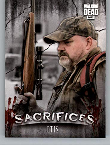 8815dc223 2018 Topps Walking Dead Hunters and the Hunted Sacrifices  S-5 Otis  Official AMC