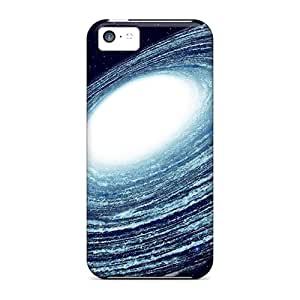Shock-dirt Proof Blue Galaxy Cases Covers For Iphone 5c