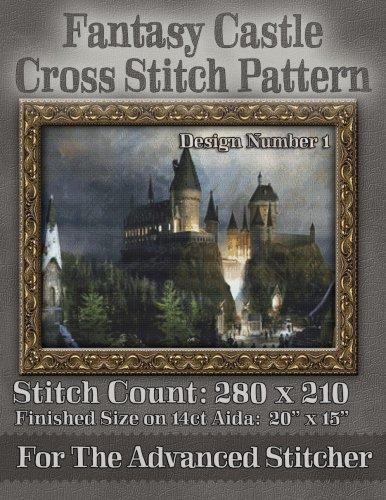 Fantasy Castle Cross Stitch Pattern: Design Number 1