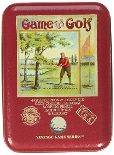 Channel Craft TTG Game of Golf in a Vintage Game Tin