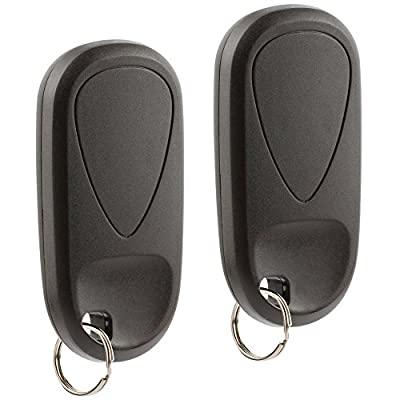 Car Key Fob Keyless Entry Remote fits 2001-2003 Acura CL / 2002-2004 Acura RL / 2002-2003 Acura TL (E4EG8D-444H-A, G8D-444H-A), Set of 2: Automotive