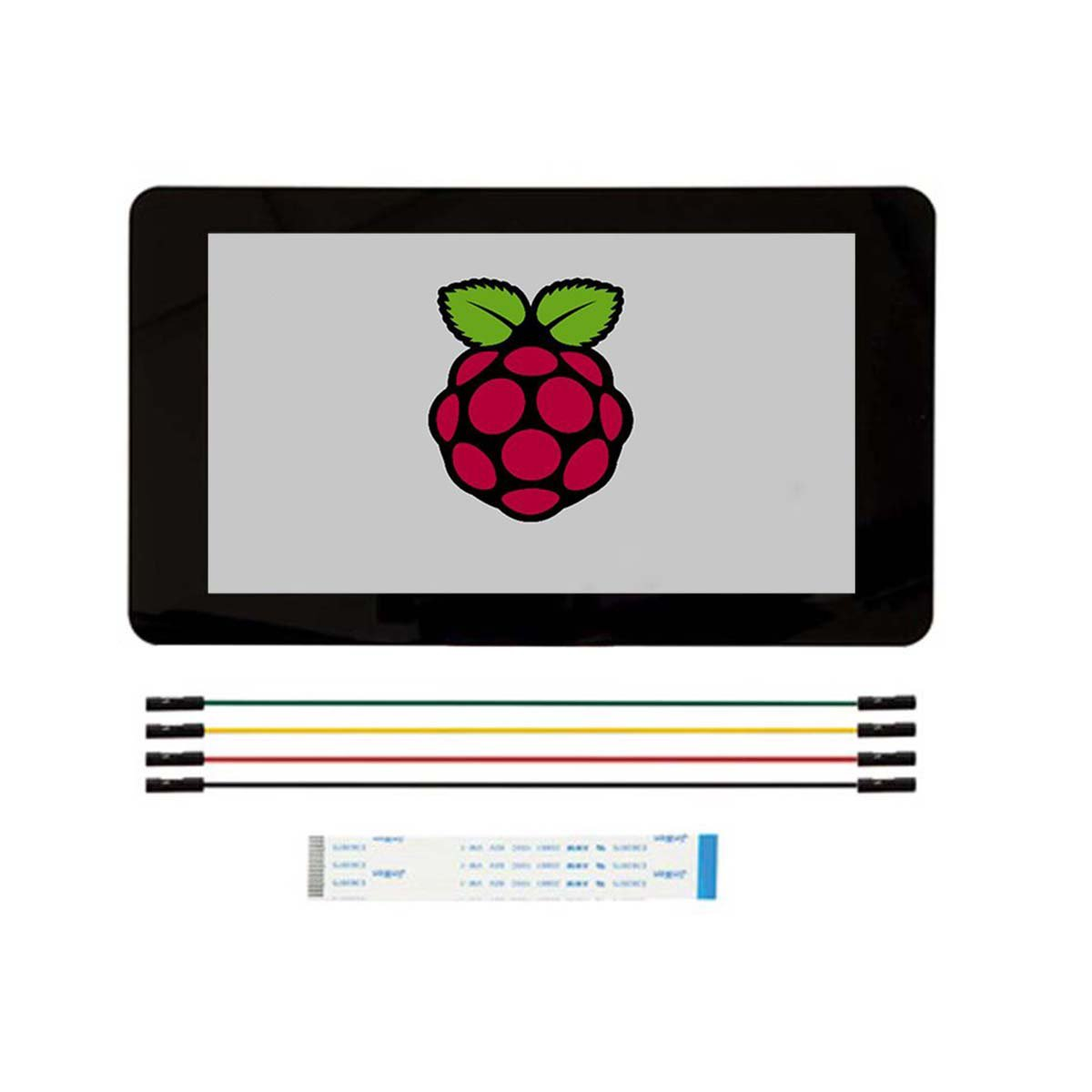 7'' 800 x 480 Touch Screen Display for Raspberry Pi 2B / B+/ A+ by OLSUS