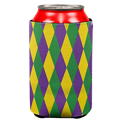 Mardi Gras Jester Costume All Over Can Cooler (Colleges For Costume Designers)