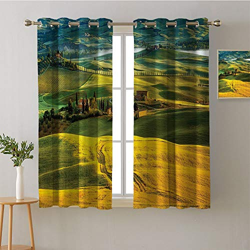 (Jinguizi Curtain for Bathroom Grommets Insulating Darkening Curtains Curtains,Extra Darkening Curtains Background Darkening Curtains Room/Bedroom(1 Pair, 42