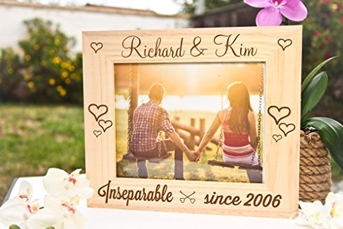 Personalized Picture Frame - Inseparable - Since Ban Ray