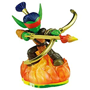Skylanders LOOSE Figure Flameslinger Includes Card Online Code