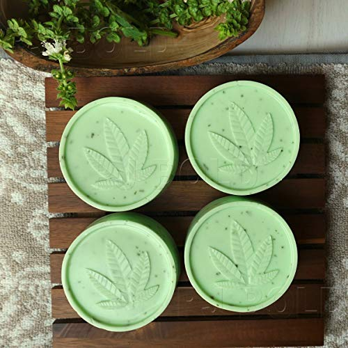 Marijuana Leaf Silicone Soap Butter Candy Mold Tray 2