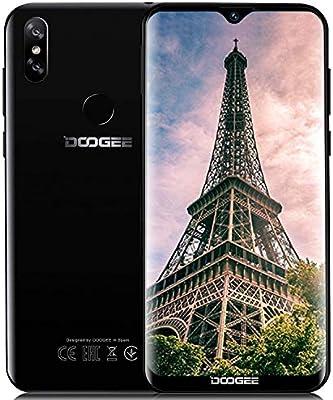 DOOGEE Y8 (3GB+32G Telefono Movil Libres 4G LTE, 2019 Smartphone Ofertas móviles Android 9.0 Quad-Core,Dual SIM 3400mAh, 6.1