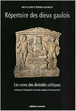 Livres Répertoire des dieux gaulois pdf, epub