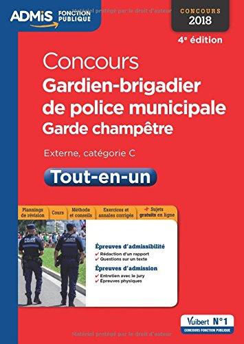 Concours Gardien-brigadier de police municipale et...