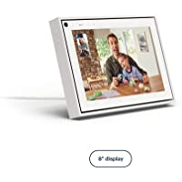 "Facebook Portal Mini Smart Video Calling 8"" Touch Screen Display with Alexa White"