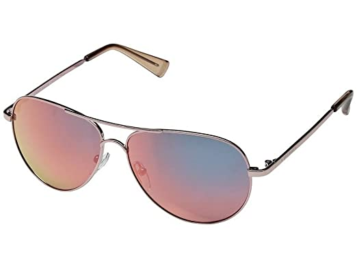 3e6792b8a5 Cole Haan Women s Small Aviator 56mm Polarized Sunglasses Rose Gold ...