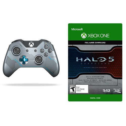 Halo 5: Guardians Digital Deluxe Edition Game and Limited Edition Guardians Wireless Controller