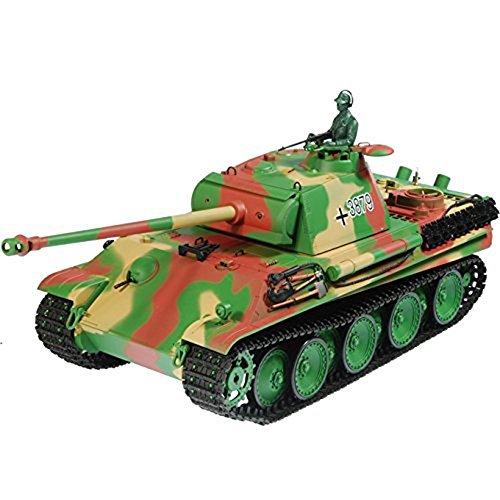 German Heavy Machine Gun - Toytexx Heng Long 3879-1 1:16 German Pather Type-G Heavy Tank