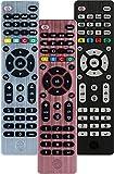 GE Universal Remote Control for Samsung, Vizio, LG, Sony, Sharp, Roku, Apple TV, RCA, Panasonic, Smart TVs, Streaming Players, Blu-ray, DVD, Simple Setup, 4-Device, Rose, 32934