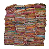 Vintage Handmade Kantha Quilts Tribal Kantha Cotton