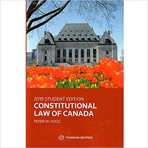 Canadas Constitutional Law in a Nutshell