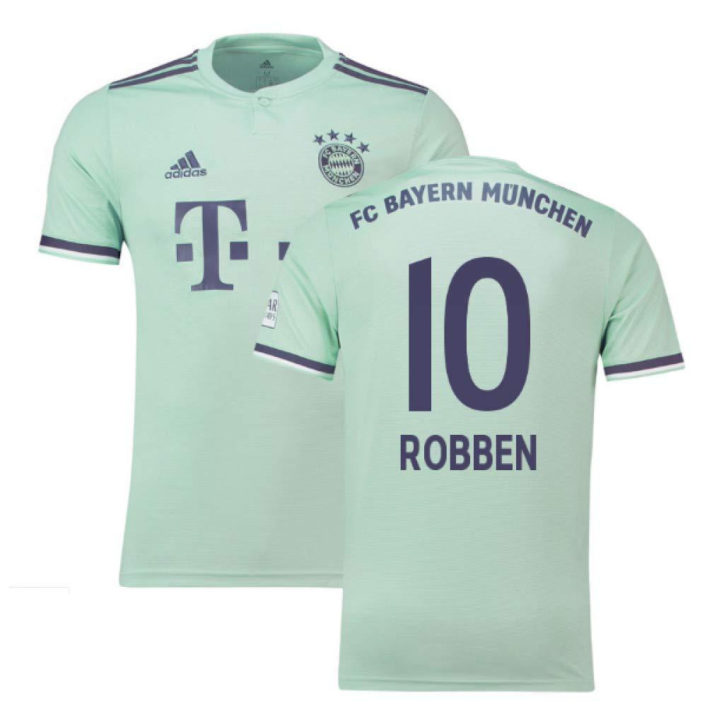 2018-19 Bayern Munich Away Football Soccer T-Shirt Trikot (Arjen Robben 10)