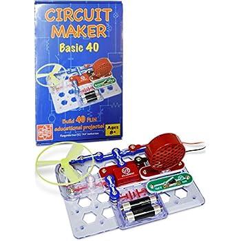 Amazon Com Elenco Circuit Maker 125 Skill Builder