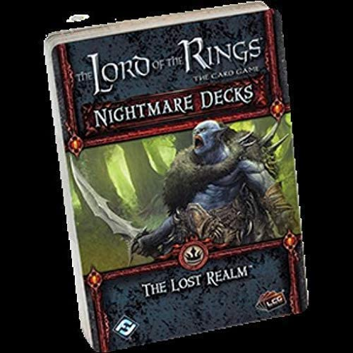 Fantasy Flight Games The Lord of The Rings LCG: The Lost Realm Nightmare Decks - English: Amazon.es: Juguetes y juegos