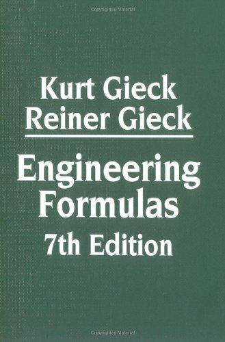 Engineering Formulas 7th Edition