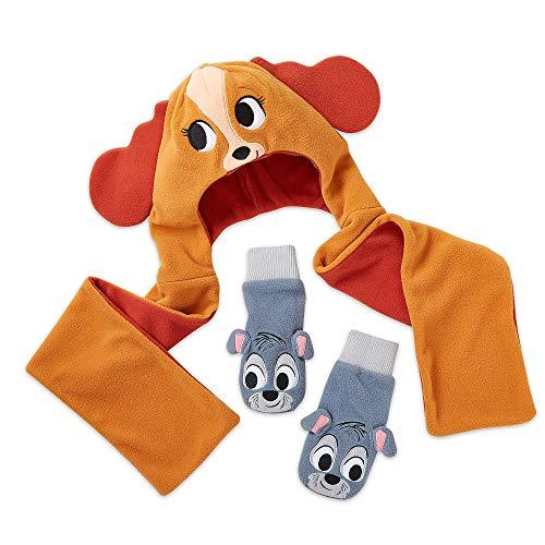 Disney Lady and the Tramp Warmwear Accessories Set - Disney Furrytale friends Size XS/S