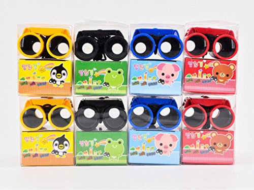 YJYdada New Children's 2.5 x 26 Magnification Toy Binocular Telescope + Neck Tie Strap by YJYdada (Image #7)