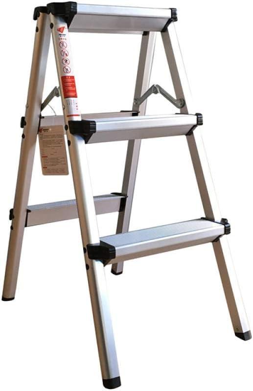 YXLONG Escalera Gruesa De Doble Lado Escalera De Aluminio Escalera Plegable Portátil Escalera De Casa Escalera De Pedal Ancho, Fácil De Acomodar,2steps: Amazon.es: Hogar