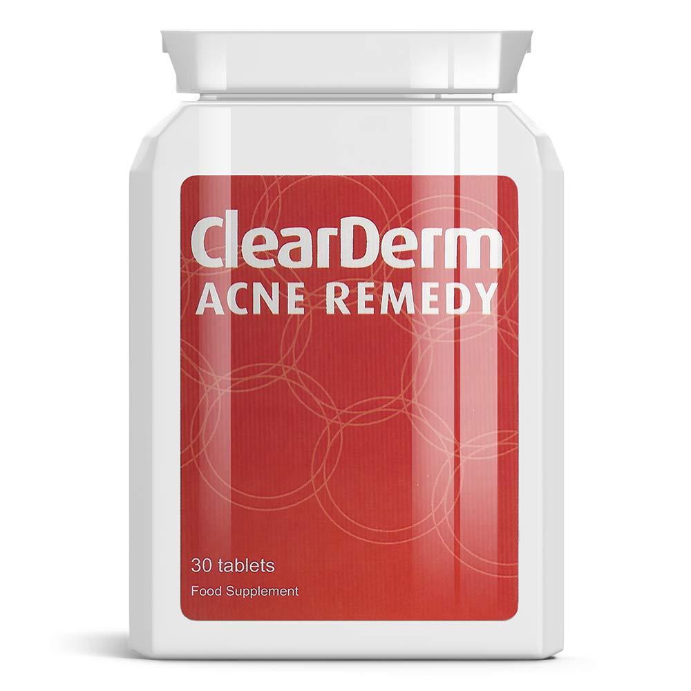 Clearderm acné comprimés, le n ° 1 de l'acné et traitement localisé 1-a - jour !! tablets/pills