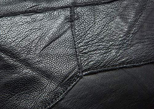 Diagonal Black Cinta Cuero Cubo Señoras Lucha Bolso Del Un Libre Superior Hombro Tendencia Capa UqzOw0Z