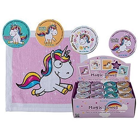 4x Mágica Toalla unicornio 30cm CABALLO ANIMAL Franela Niños Regalo: Amazon.es: Juguetes y juegos