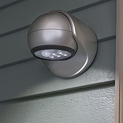 Fulcrum Motion Sensor LED Porch Light