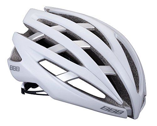 BBB Helm CRT. Icarus bhe-05 weiß Silber t-m
