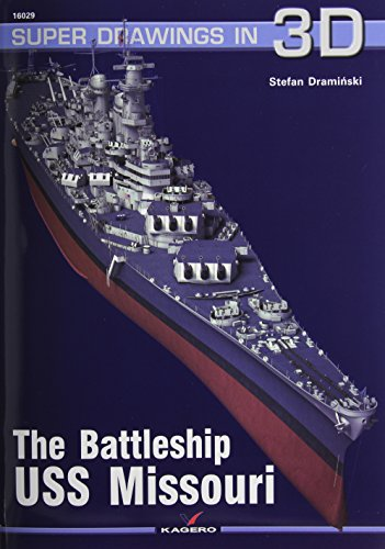 The Battleship USS Missouri (Super Drawings in 3D) por Stefan Draminski