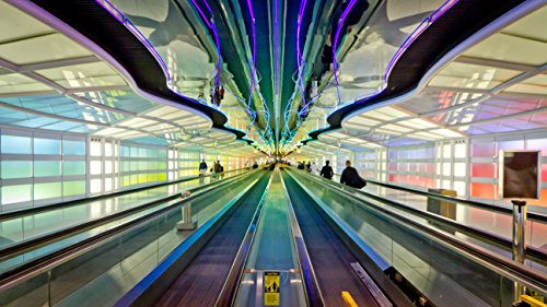 Home Comforts Laminated Poster Chicago O'Hare International Airport (IATA: ORD, ICAO: KORD, FAA LID: ORD), Also Known as O'Hare Air Vivid Imagery Poster Print 24 x 36 (Chicago Ohare Airport)