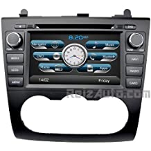 2007-2012 Nissan Altima In-Dash Navigation Stereo GPS DVD CD MP3 AVI USB SD Radio Bluetooth Hands-free Steering Wheel Controls Touch Screen iPod iPhone-Ready AV Receiver Video Audio Player Multimedia Infotainment System w/ Digital TV Rear View Camera Option Digital TV Option OEM Replacement Deck With Manual Climate Controls