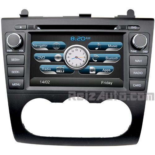 2007 2012 nissan altima in dash navigation stereo gps dvd. Black Bedroom Furniture Sets. Home Design Ideas