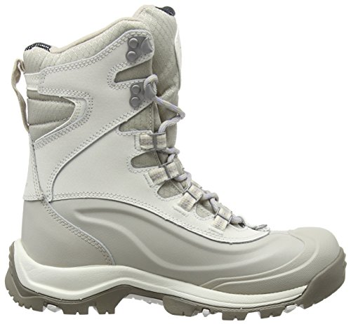 Columbia Women's Bugaboot Plus III Omni-Heat High Rise Hiking Boots White (Sea Salt, Twilight 125)