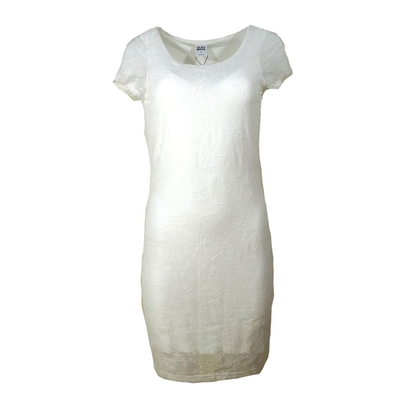 Vero Moda Damen Kleid Partykleid Spitzenkleid Kleid mit Spitze Mini ...