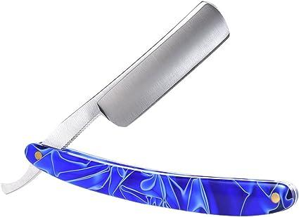 Anself Afeitadora Manual Acero Inoxidable: Amazon.es: Belleza