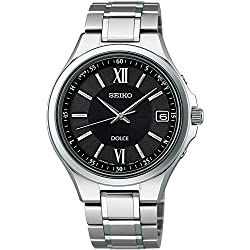 SEIKO watches EXCELINE Exceline solar radio Modify sapphire glass super clear coating for everyday life waterproof titanium-resistant metal allergy COMFOTEX Gong follower Tex SADZ135 Men