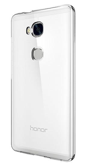 spigen Funda Honor 5X Case, Liquid Crystal, Ultra Delgada, Carcasa para Huawei Honor 5X - Transparente (L03CS20291)